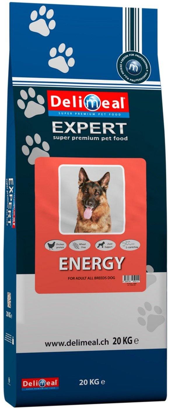 Сухой корм Delimeal All Breed Energy для активных или живущих вне помещения собак